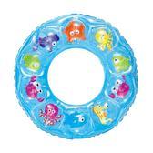 游泳圈 Bestway兒童游泳圈成人加大游泳圈加厚充氣救生圈兒童腋下水晶圈 雲雨尚品