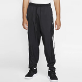 C-NIKE Giannis 男裝 長褲 籃球 拉鍊口袋 梭織 透氣 黑 CD9553-010