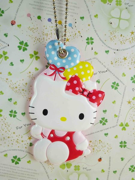 【震撼精品百貨】Hello Kitty 凱蒂貓~KITTY姓名吊牌-愛心氣球