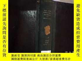 二手書博民逛書店THE罕見NEW ENGLAND JOURNAL OF MEDICINE 1938 VOL.218 新英格蘭醫學雜