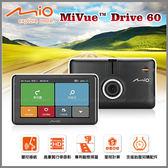 【愛車族購物網】MIO MIVUE DRIVE 60 五合一行車記錄導航機/測速/支援胎壓偵測+16G記憶卡(內附)