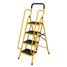 百佳宜梯子家用摺疊伸縮梯扶手四步五步梯加厚寬踏板人字梯閣樓梯  nms 樂活生活館