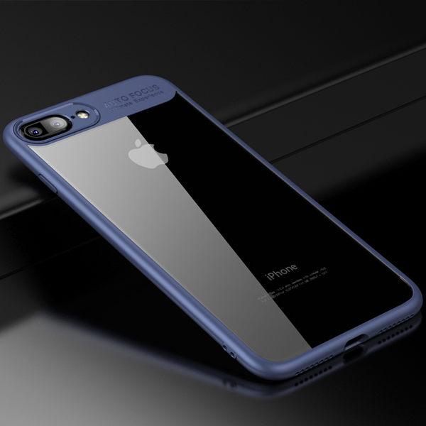 【SZ34】iPhone X 手機殼 簡約透明背板軟殼 iPhone 7/8 plus 手機殼 iPhone6s plus iPhone X 手機殼