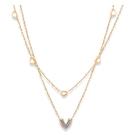 【5折超值價】鈦鋼項鍊女款愛心時尚設計簡約流行項鍊