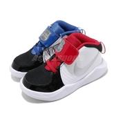 Nike 休閒鞋 Team Hustle D 9 Auto TD 銀 藍 紅 童鞋 小童鞋 運動鞋 【PUMP306】 CK0617-001