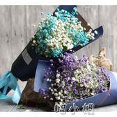 大束滿天星幹花永生花束禮盒裝七夕禮物情人節送女友花束 NMS