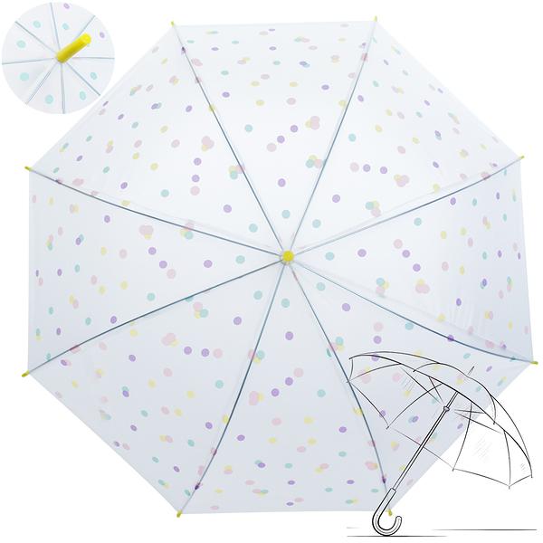 樂嫚妮 自動開傘/直立雨傘-馬卡龍方塊-黃
