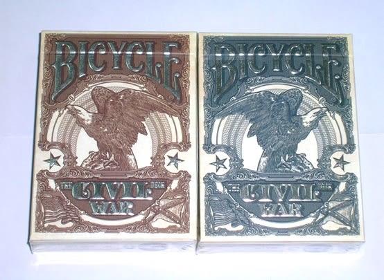 【USPCC 撲克】LTD civil war playing cards set 一組二付