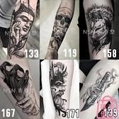 5全臂 3花臂 紋身貼防水男女持久仿真刺青紋身貼紙【匯美優品】