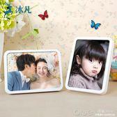 相框擺臺掛墻創意7寸10十七寸像框兒童韓式影樓照片框相片框相架 深藏blue