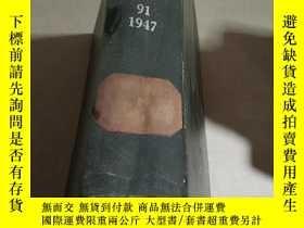 二手書博民逛書店OFFICERS罕見OF THE SOCIETY.91.1947