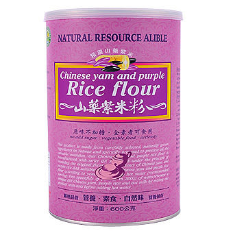 綠緣寶 山藥紫米粉 500g/罐