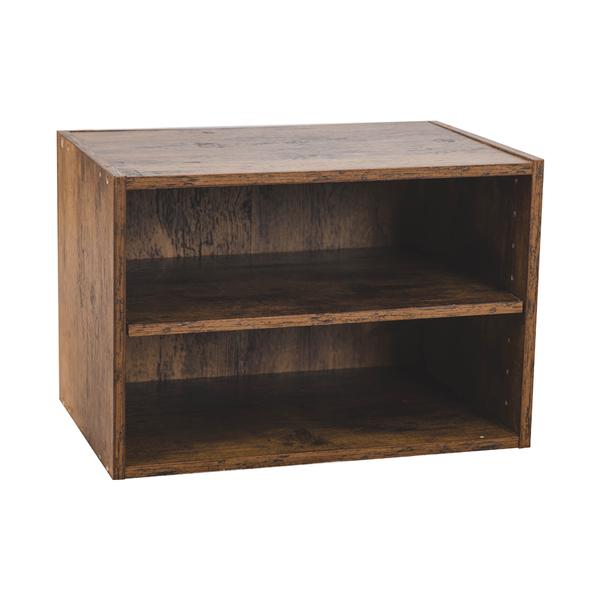 樂嫚妮 收納櫃 二層收納櫃 空櫃 仿木色