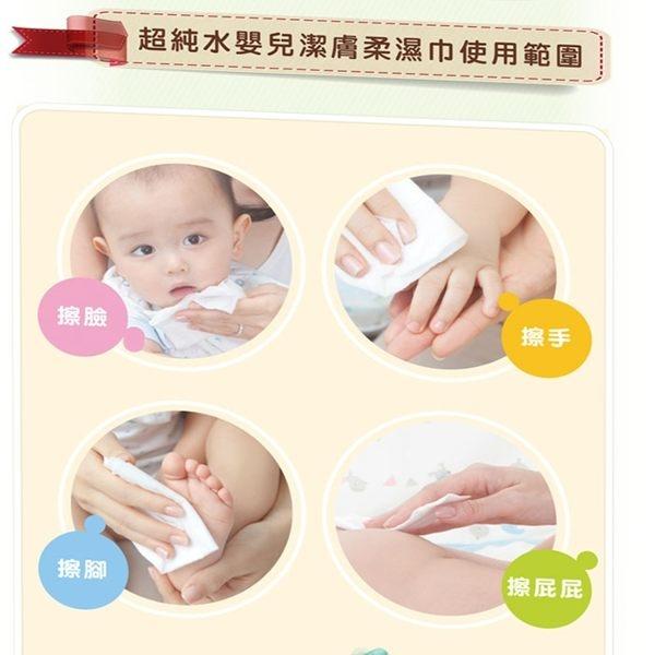 Nac Nac 純水嬰兒柔濕紙巾80抽 / 6包 送濕巾蓋 138990 好娃娃