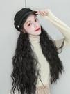 假髮女長髮網紅海軍帽假髮