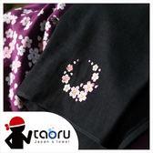 日本運動毛巾 : 櫻吹雪 (刺繡) 34*95 cm (長毛巾 頭巾 運動巾 -- taoru 日本毛巾)