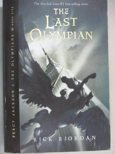 【書寶二手書T1/原文小說_GV6】The Last Olympian_Riordan, Rick