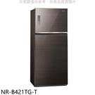 【南紡購物中心】Panasonic國際牌【NR-B421TG-T】422公升雙門變頻冰箱曜石棕