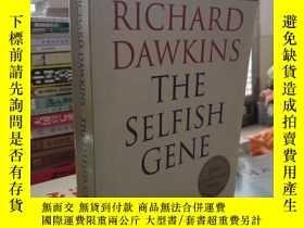 二手書博民逛書店RICHARD罕見DAWKINS THE SELFISH GENE【自私的基因】英文版Y314585 未知 未