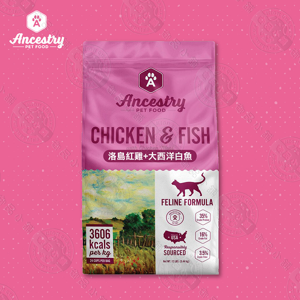 [送贈品] 美國望族 Ancestry 天然貓糧 無穀系列 4LB 貓飼料 全齡貓 高蛋白