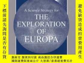 二手書博民逛書店A罕見Science Strategy For The Exploration Of Europa (compas