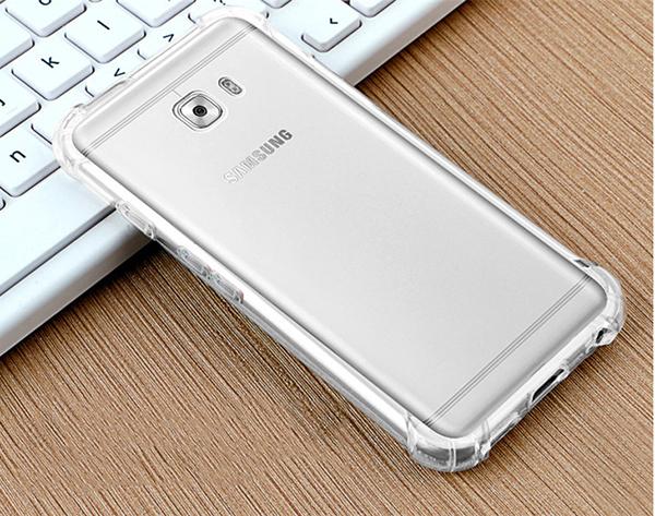 三星 Galaxy 2017版 A7(7) 四角加厚氣墊背蓋 透明手機殼 防摔保護套 TPU手機套 矽膠軟殼 全包邊保護殼