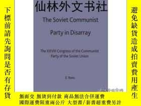 二手書博民逛書店【罕見】Soviet Communist Party in Di