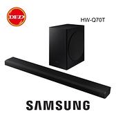 SAMSUNG 三星 HW-Q70T Soundbar 聲霸 3.1.2 聲道 劇院 支援 Dolby Atmos 全景深 公司貨