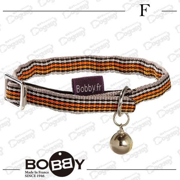 狗日子《Bobby》時尚條紋貓咪項圈