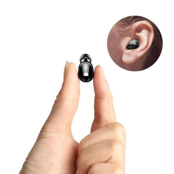 諾必行 M8隱形藍牙耳機無線掛耳式迷你超小型運動開車單入耳塞微型 四色可選【快速出貨】