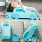 小汽車寶寶洗頭椅可坐躺折疊兒童洗頭躺椅多功能家用男女孩洗頭  嬌糖小屋