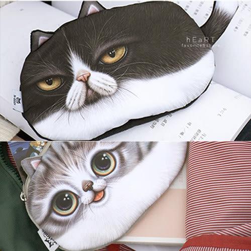 尾巴貓萬用零錢包 貓咪造型 可愛零錢包 化妝包