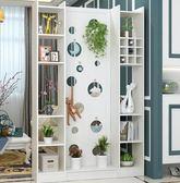 歐式進門實木玄關櫃門廳隔斷櫃酒櫃雙面現代簡約客廳屏風隔斷裝飾