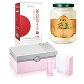 【老行家】三馨二益L組(濃醇燕盞+蔓越莓珍珠粉+蔓越莓益生菌30粒)