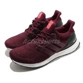 adidas 慢跑鞋 Ultraboost Ltd 紅 黑 男女鞋 編織 羊毛紗線 Boost 【ACS】 AF5836