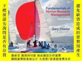 二手書博民逛書店Fundamentals罕見Of Human Resource Management (3rd Edition)-