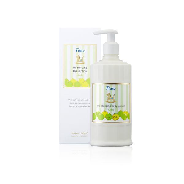 【Fees法緻】嬰兒滋潤保濕乳液--香蘋300ml (親膚 寶寶身體乳 彌月禮 天然 低敏 滿月禮 送禮)