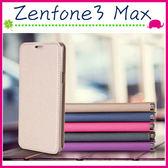 Asus Zenfone3 Max ZC553KL 金沙紋皮套 內裡軟殼手機殼 磁吸保護套 支架手機套 側翻保護殼