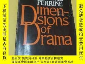 二手書博民逛書店Dimensions罕見of Drama 維度的戲劇Y18060