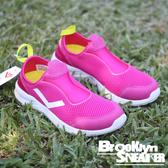 PONY Splash Aqua 桃紅 休閒 懶人鞋 女 (布魯克林) 73W1SP67PM