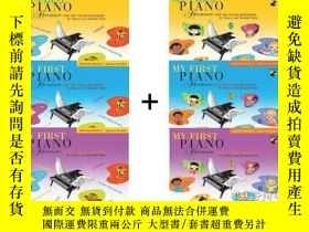 二手書博民逛書店英文原版罕見菲伯爾我的鋼琴第一課 My First Piano
