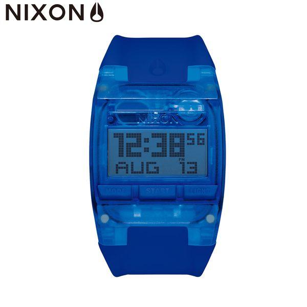 NIXON手錶 原廠總代理 A408-2041 THE Comp 藍色 潮流時尚膠錶帶 男女適用 運動潛水 生日 情人節禮物