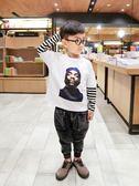 男童長袖T恤新款韓版兒童休閒上衣寶寶春秋裝打底衫1-356歲潮
