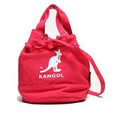 KANGOL 紅色 圓筒袋 圓筒袋 帆布 英國 (布魯克林) 6925300740