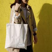 PocoPlus 布袋原創新品帆布包棉森女系文藝復古 女單肩手提ONS002