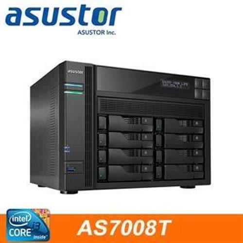 ASUSTOR華芸 AS-7008T 8Bay網路儲存伺服器