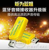 無線藍芽音頻接收器音箱耳機4.0適配器免提通話USB藍芽棒 概念3C旗艦店