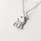 項鍊 925純銀鑲鑽吊墜-精緻耀眼生日聖誕節交換禮物女飾品73gj114[時尚巴黎]