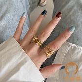 戒指純銀女時尚創意高級感歐美夸張蹦迪食指【宅貓醬】