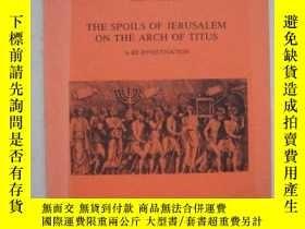 二手書博民逛書店THE罕見SPOILS OF JERUSALEM ON THE